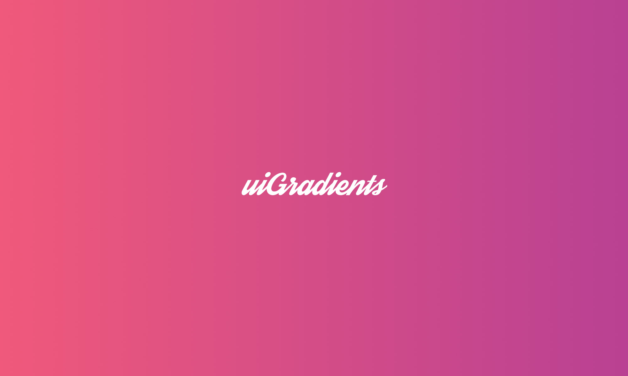 UiGradients – Beautiful Coloured Gradients