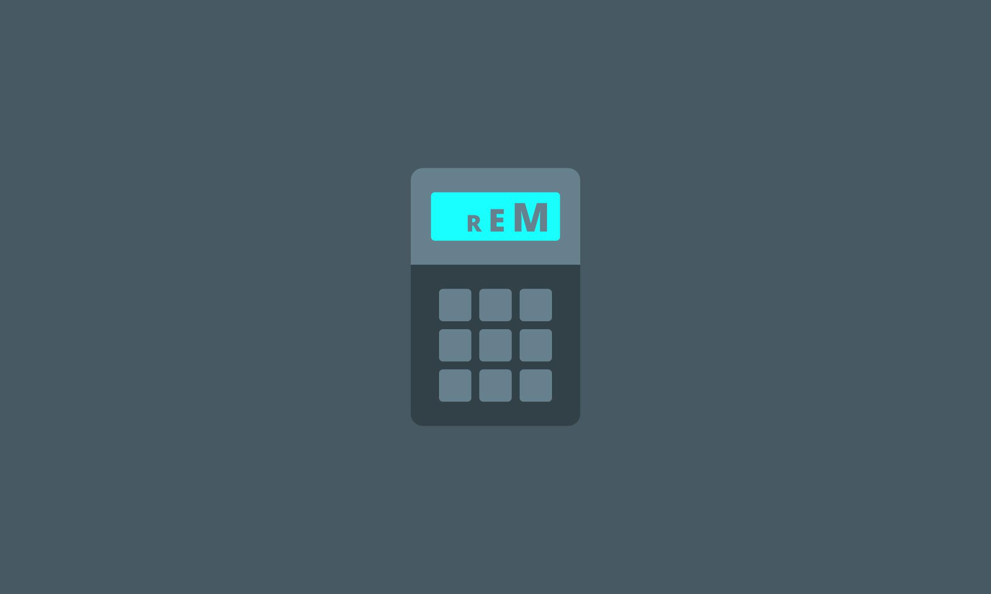 REM Calculator