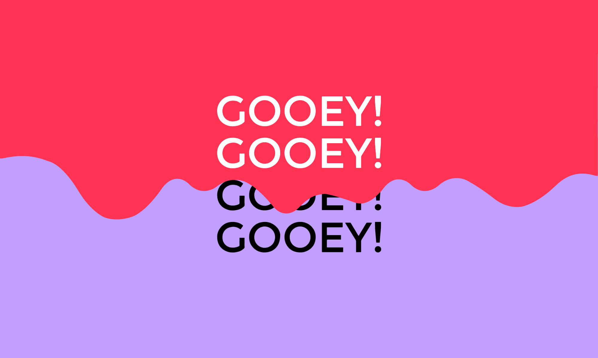Gooey Transition