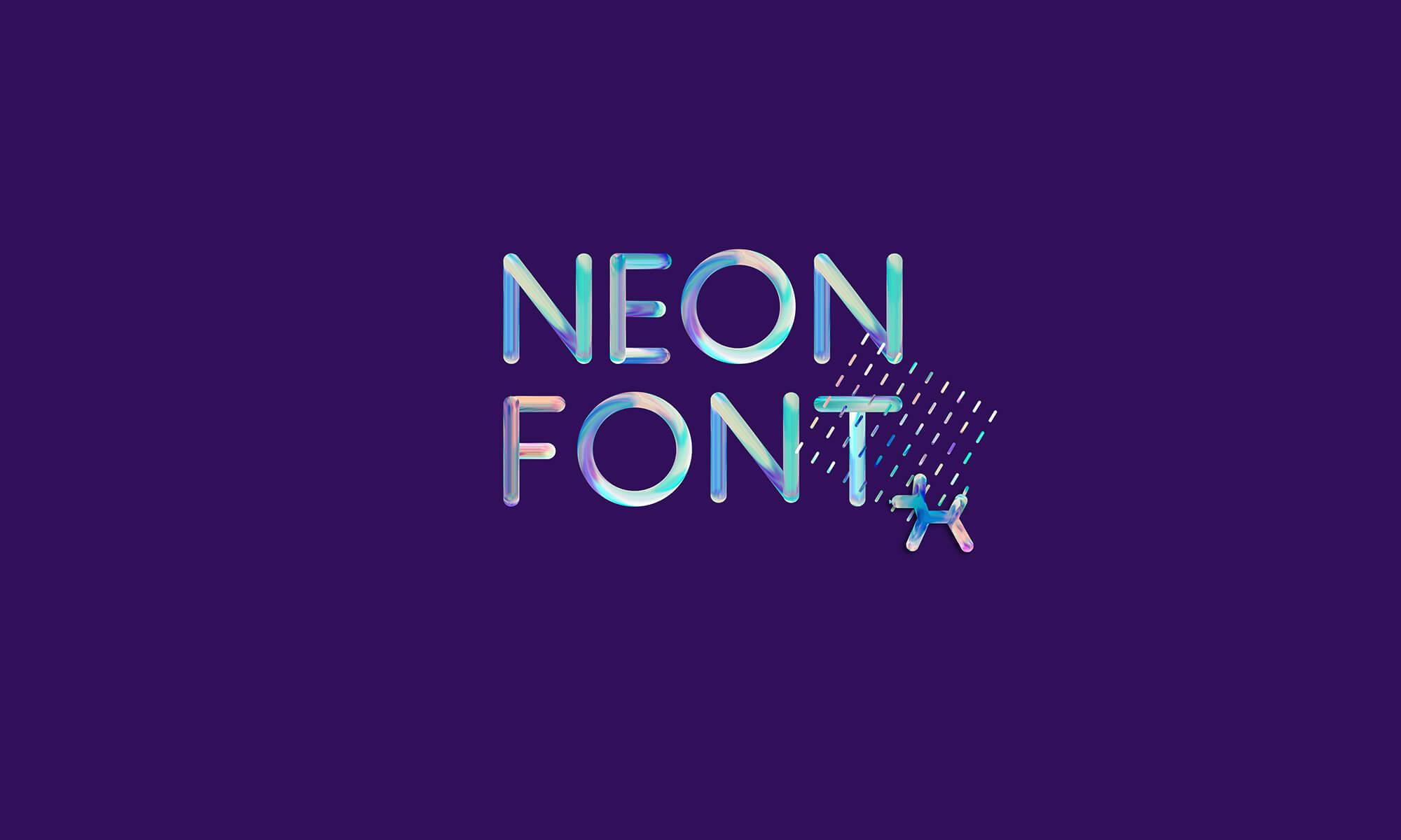 Free Neon Font