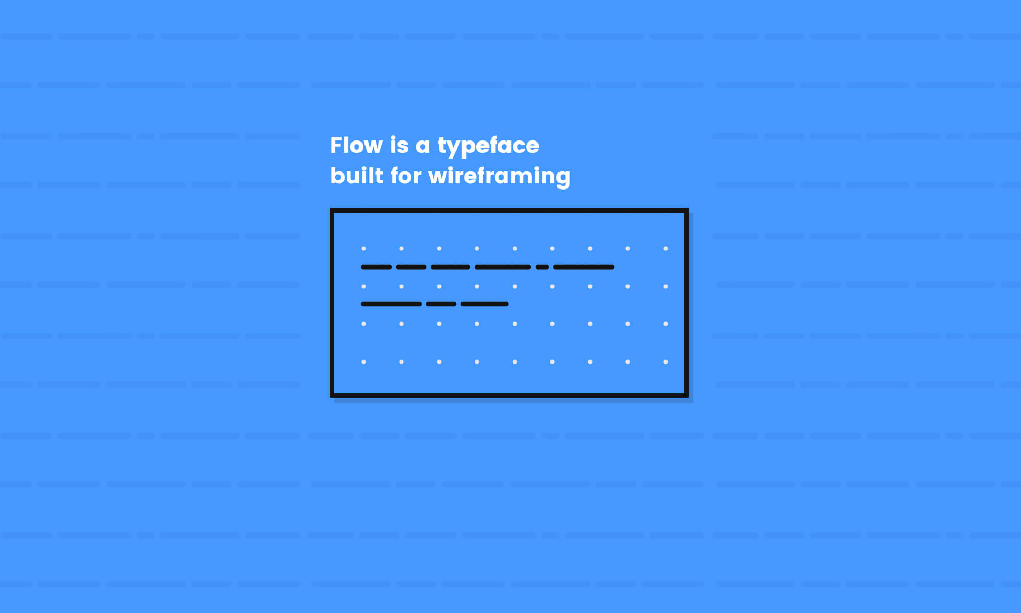 Flow Typeface