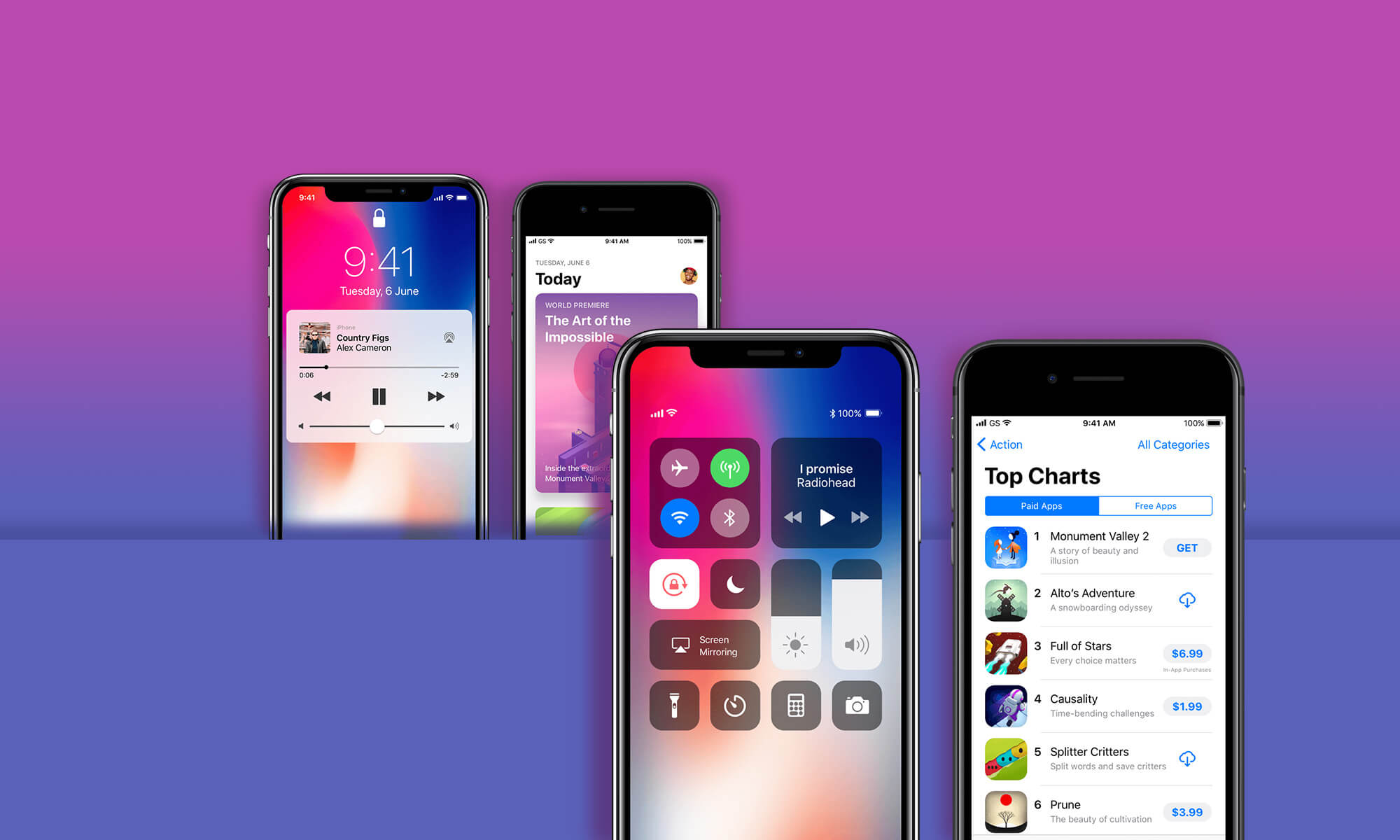 Free iOS 11 GUI