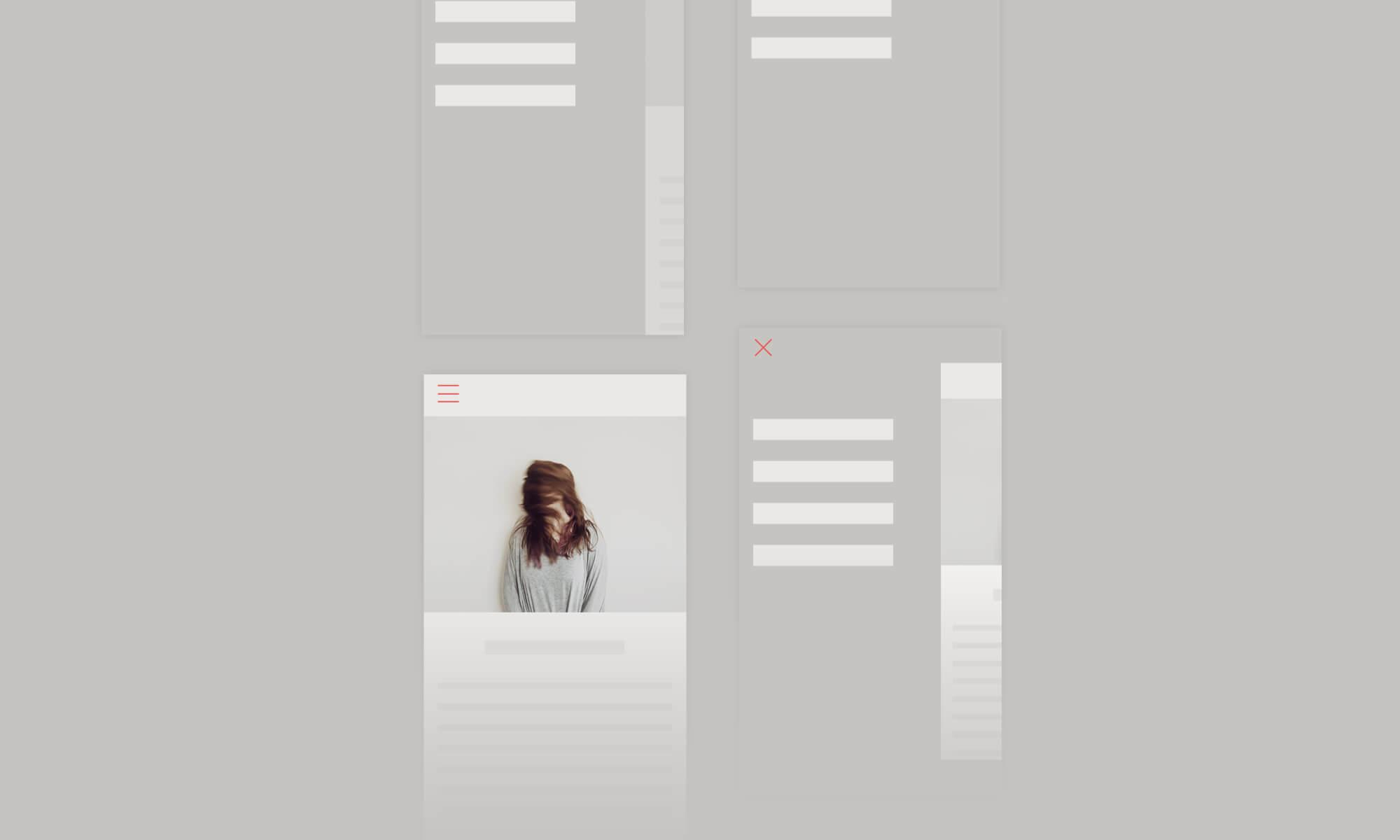 Three CSS Mobile Nav Animations