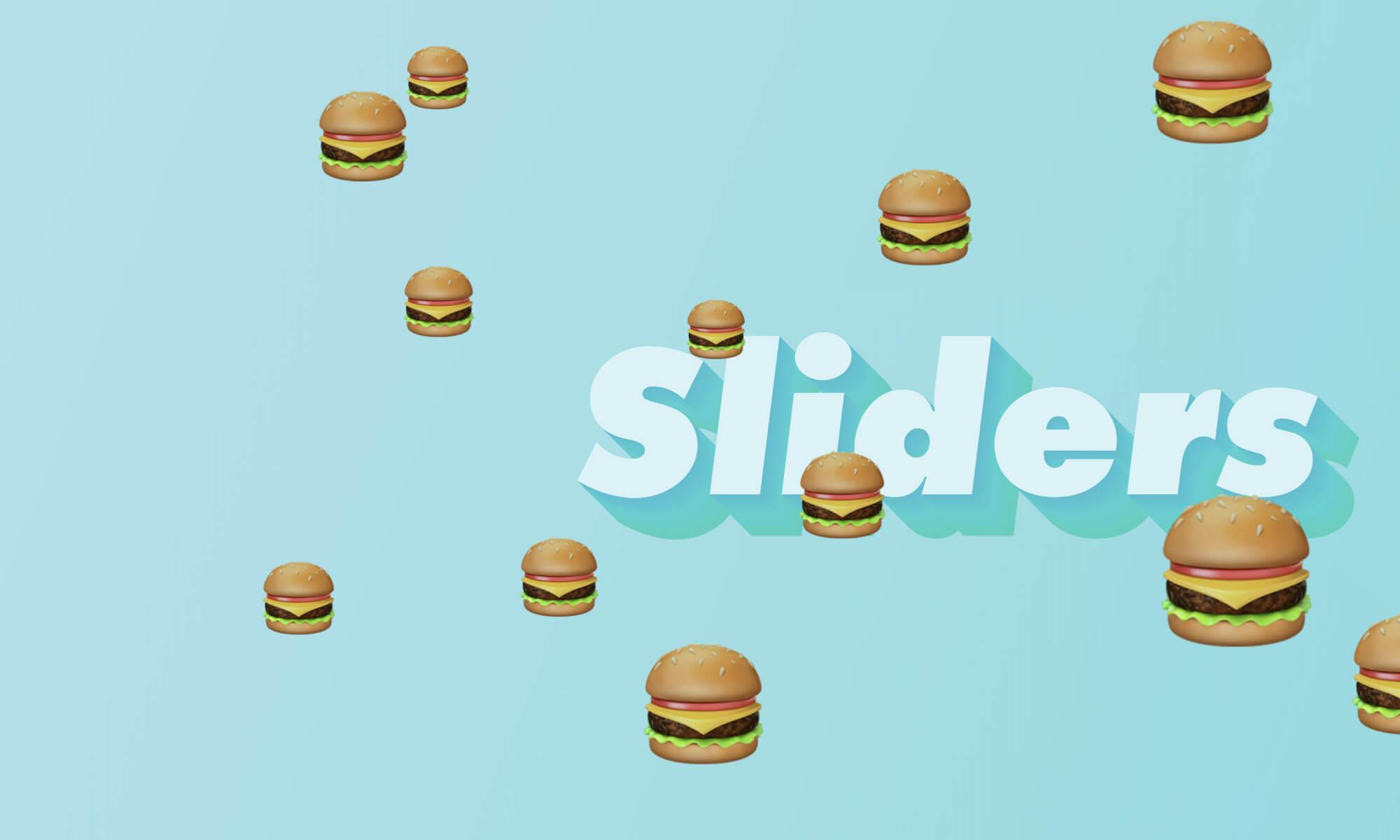 Good Burger Sliders