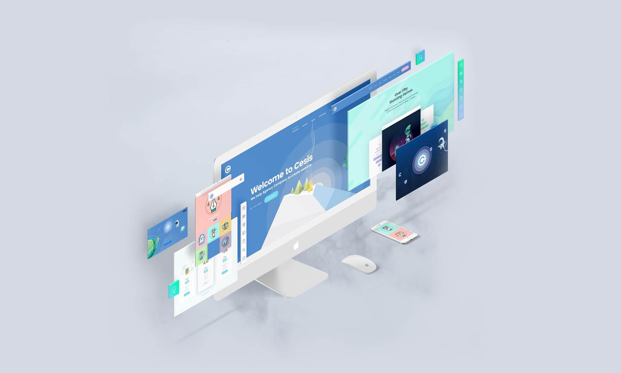 Perspective PSD Mockups