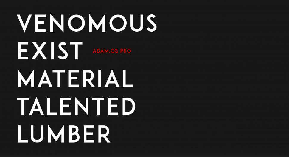 Adam.CG Pro – Free Font