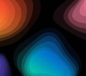 Gradient Topographic Animations