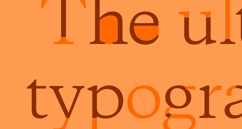 Typography Terminology