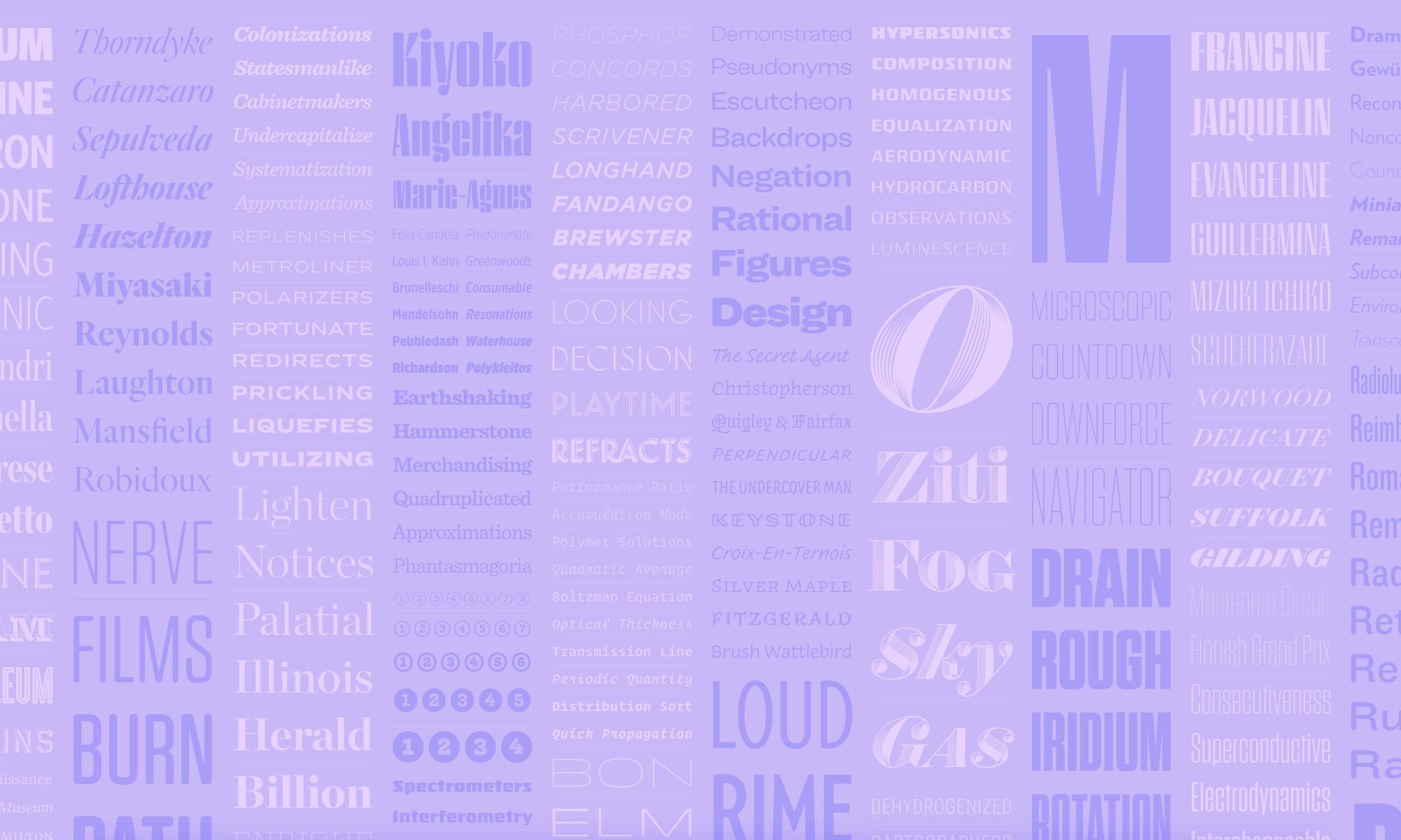&Fonts