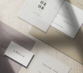 Paper Stationary Mockup
