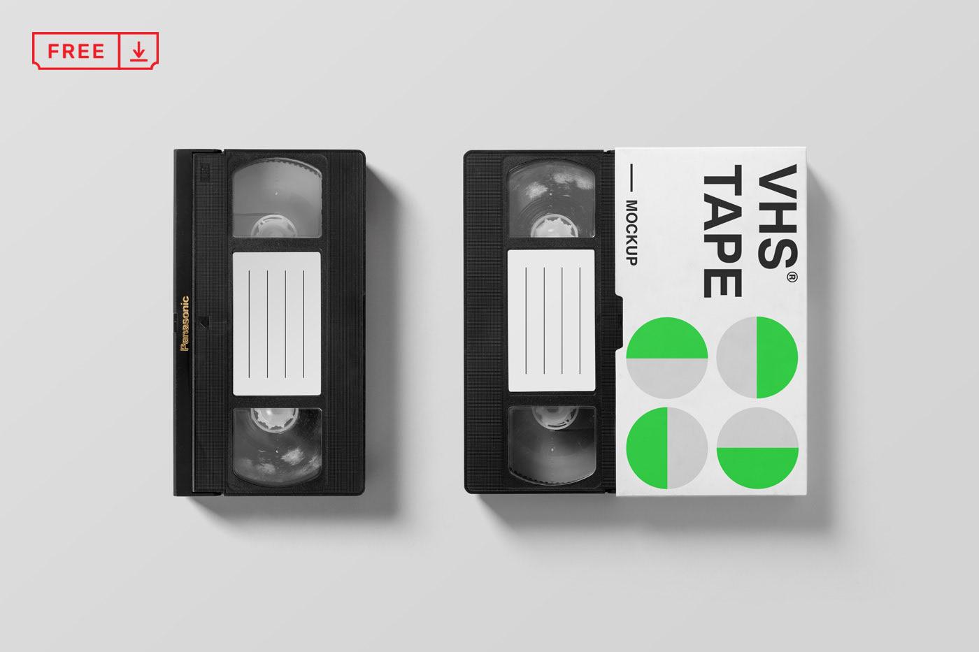 VHS Mockup