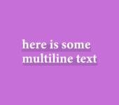 Fat Underline Text