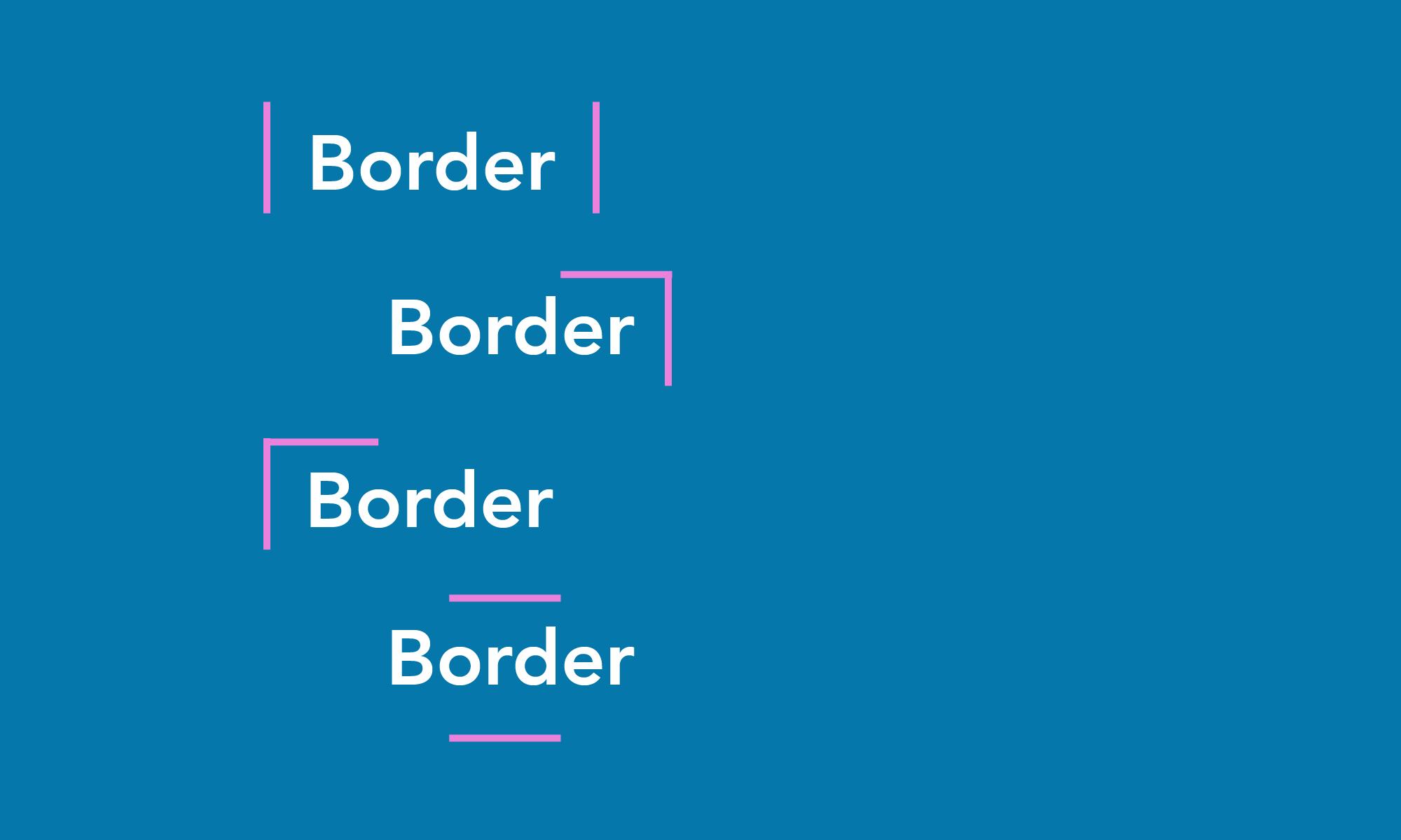 CSS Border Lines