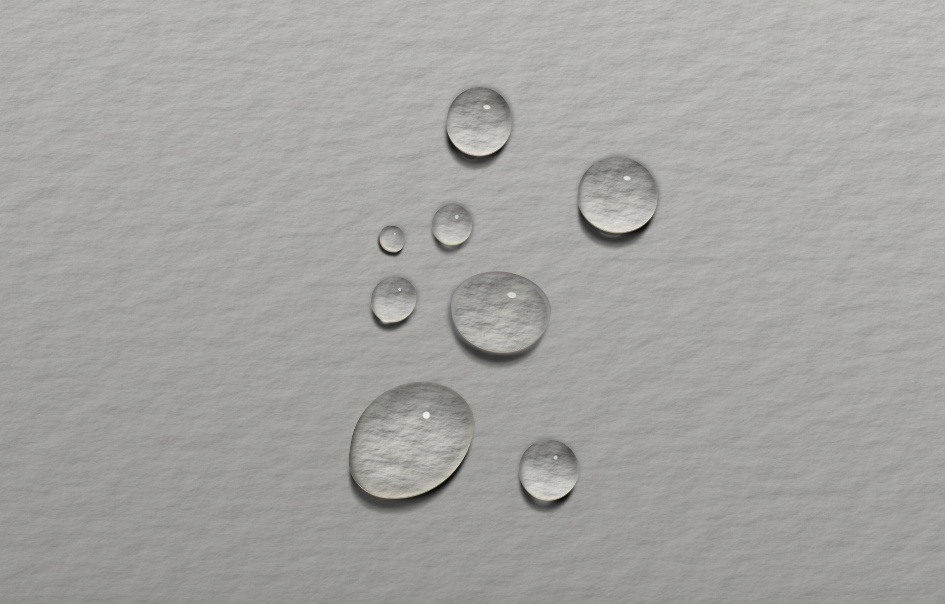CSS Droplets