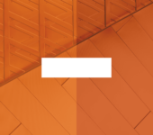 bar on orange background
